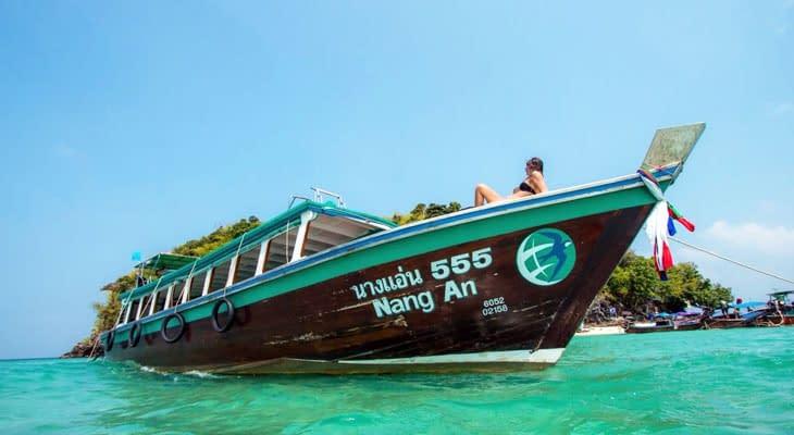 nang an longtailboot 4 eilanden krabi
