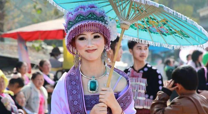 hmong bergstam chiang mai