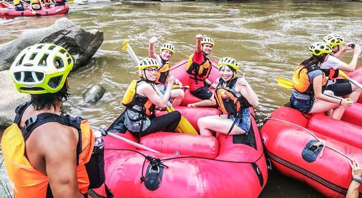 the peak rafting chiang mai