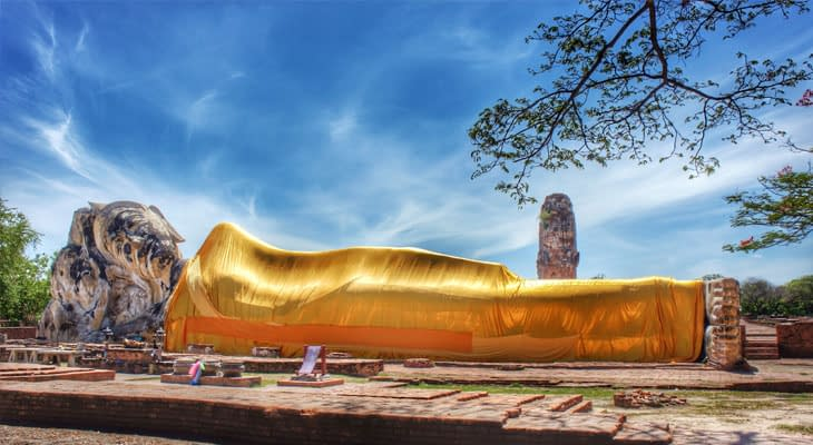 liggende boeddha ayutthaya tour