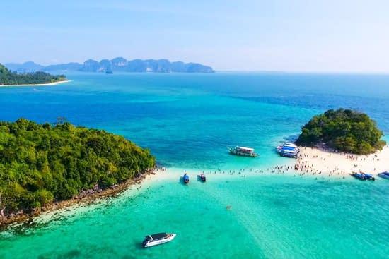 4 eilanden tour krabi