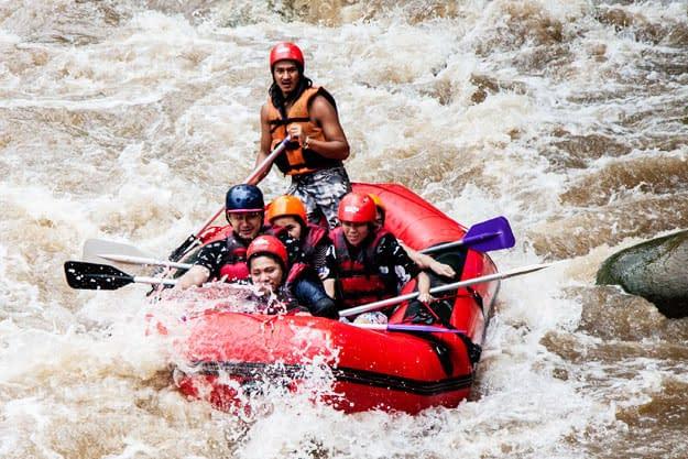 raften mae taeng rivier chiang mai