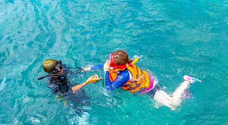 snorkelen Phi Phi en Khai eilanden per speedboot