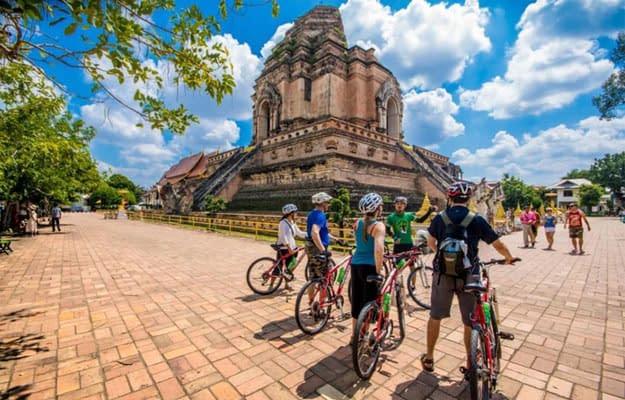 fiets excursie chiang mai