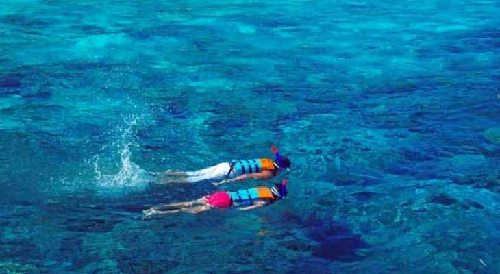 snorkelen 2 Phi Phi en Khai eilanden per speedboot