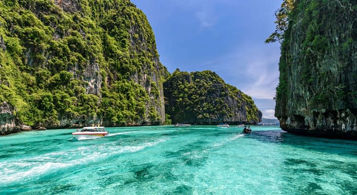 pileh baai excursie vanaf krabi