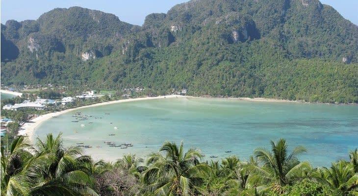 Phi Phi en Khai eilanden per speedboot phi phi viewpoint