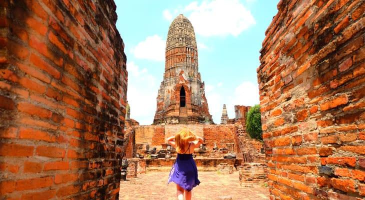 Wat Phra Mahathat ayutthaya dagtrip