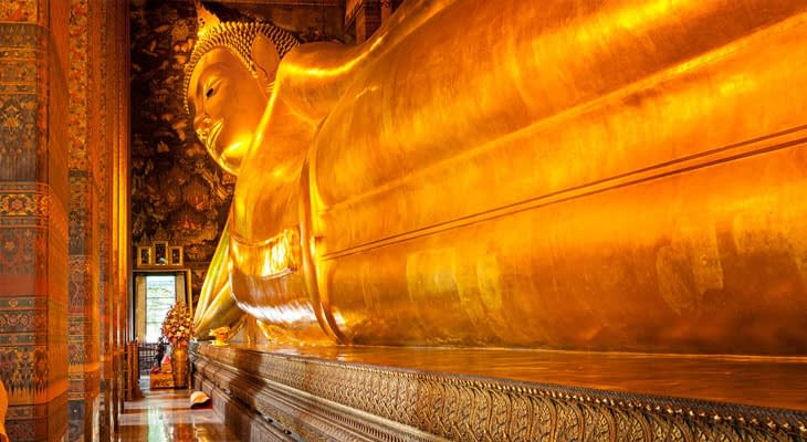 wat pho liggende boeddha