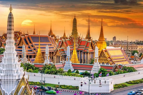 wandeltocht tempels bangkok excursie