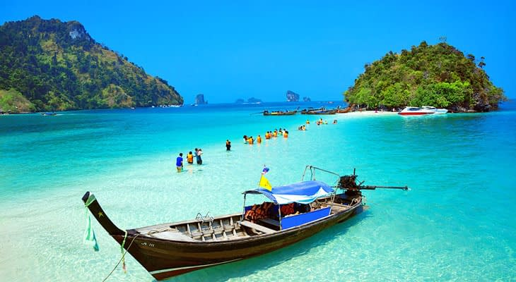 tup eiland krabi 7 island-tour