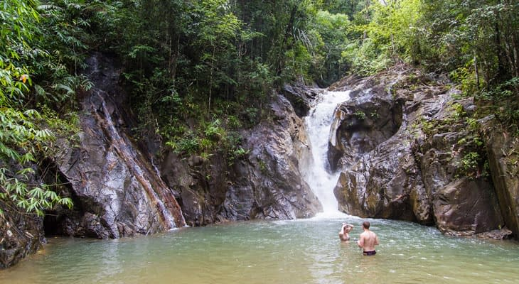 ton pariwat waterval krabi raft tour
