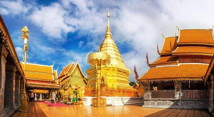 doi suthep tempel chiang mai excursie
