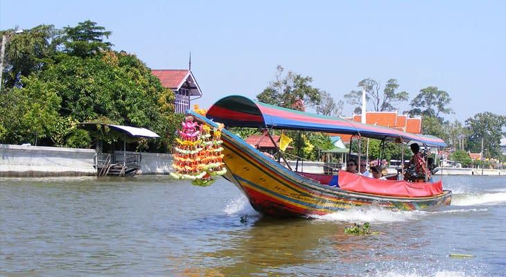 longtailboot trip bangkok excursie