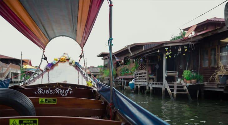 longtailboot tour bangkok
