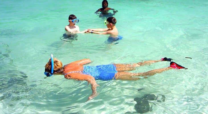 snorkelen 4 eilanden tour krabi