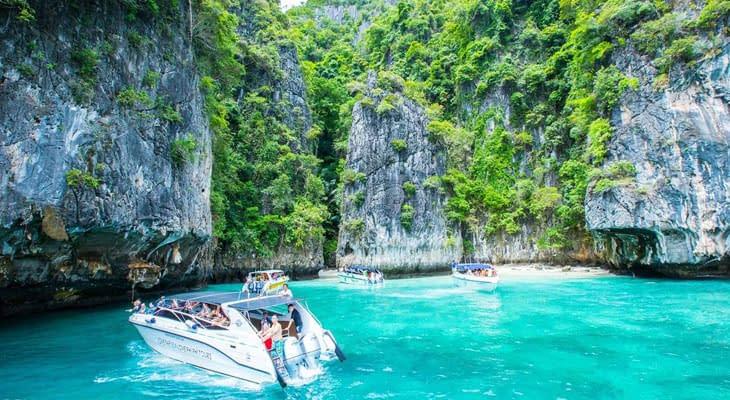 phi phi eilanden excursie vanaf ao nang