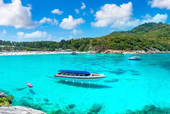 raya coral eiland phuket tour