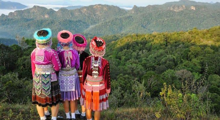 hmong bergstam excursie vanaf chiang mai