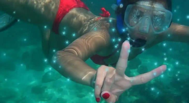 zwemmen met plankton krabi
