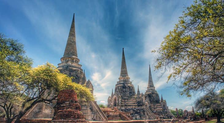 Wat Phra Si Sanphet vanuit bangkok excursie