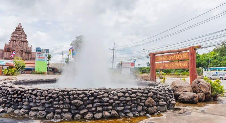 heetwaterbronnen chiang rai