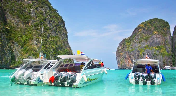 speedboot tour hong eiland ao nang