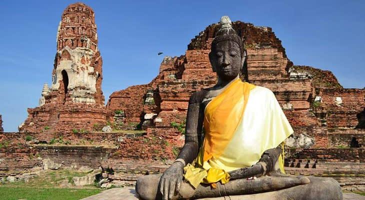 ayutthaya tempels excursie vanaf bangkok