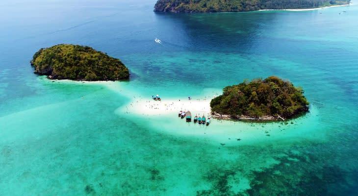 longtailboot 4 eilanden krabi excursie
