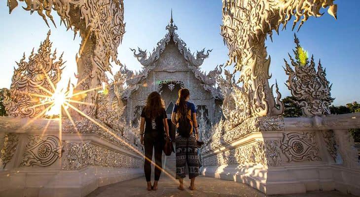 witte tempel wat rong khun chiang rai
