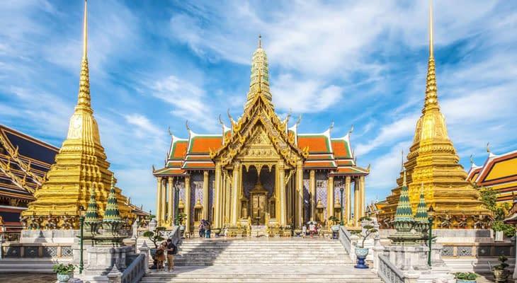 wandeltour koninklijk paleis bangkok