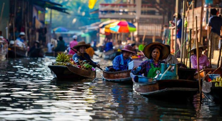 bangkok excursie naar damnoen sadoeak