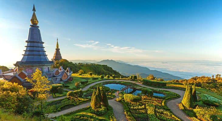 doi inthanon pagodas tour