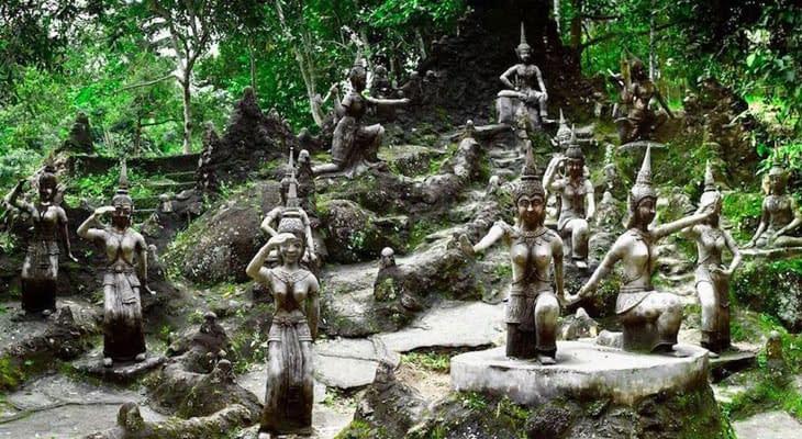 magic buddha garden koh samui