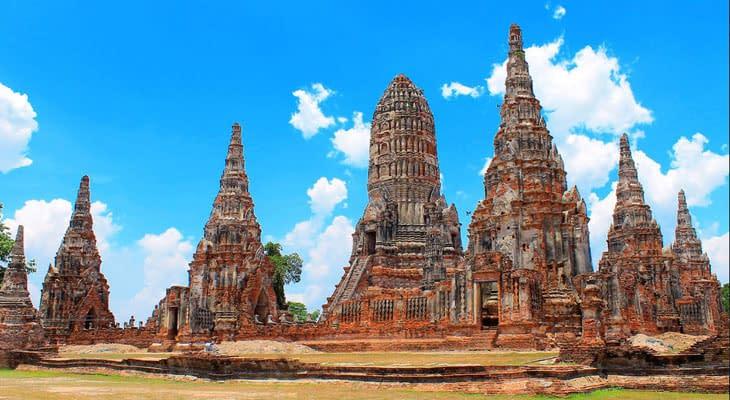 Wat Ratchaburana aytutthaya excursie