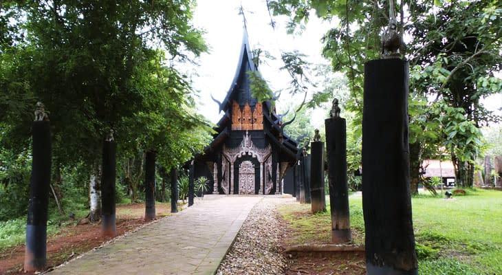 zwarte huis excursie chiang rai vanaf chiang mai