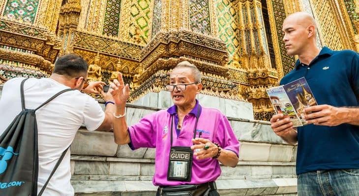 wandeltocht met gids bangkok excursie