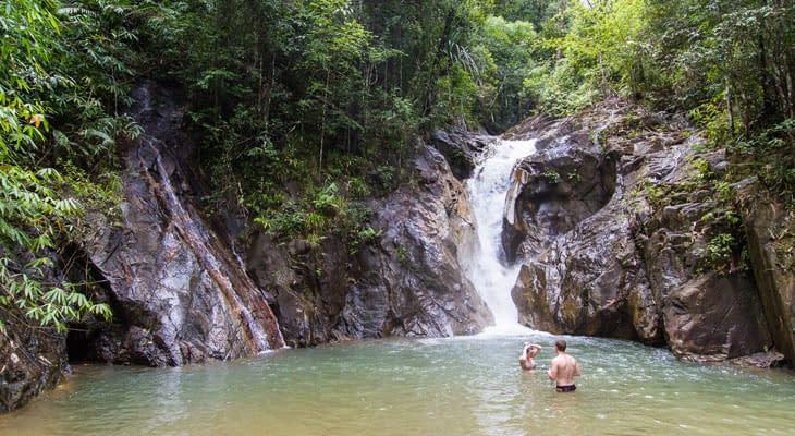 ton pariwat waterval krabi raft tour