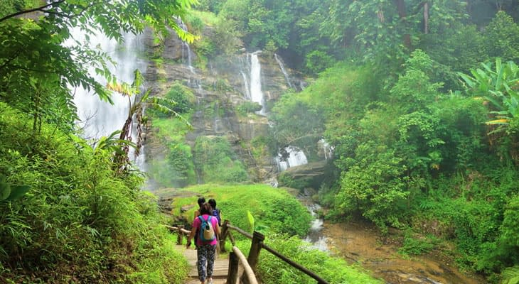 wacharithan waterval chiang mai doi inthanon