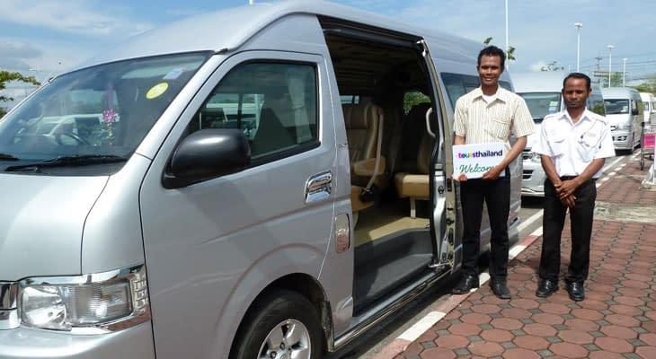 minibusje met air conditioning chiang rai dagtrip