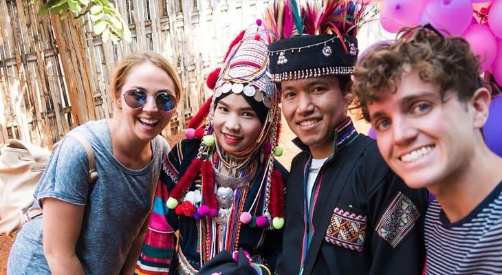 akha hill tribe chiang rai excursie