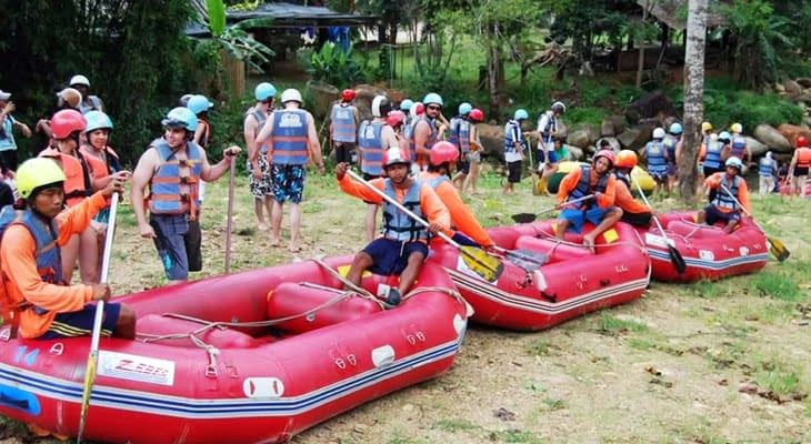 white water rafting krabi