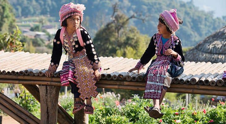 hmong bergstam thailand excursie