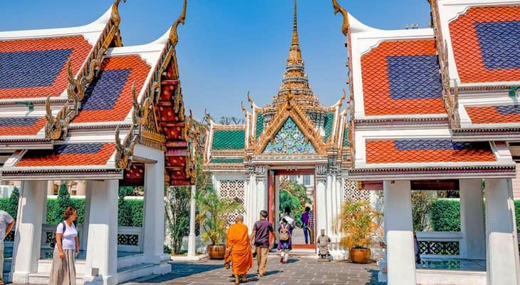 wandeltocht tempels bangkok