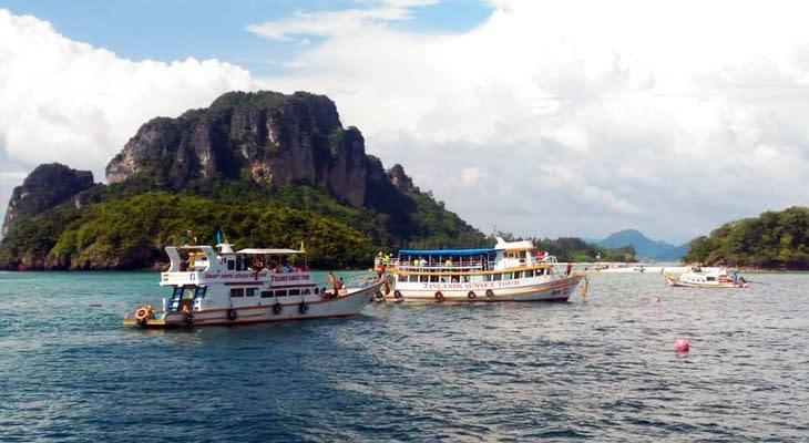 7 eilanden excursie krabi