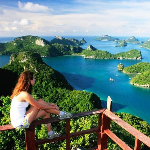 angthong marine park dagtocht excursie