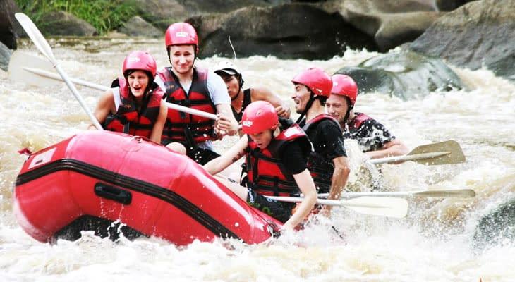 the peak raften excursie chiang mai
