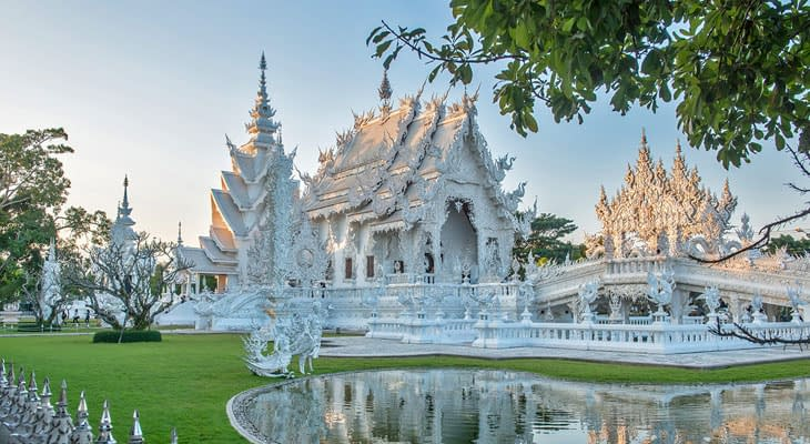witte tempel chiang rai dagtrip vanaf chiang mai