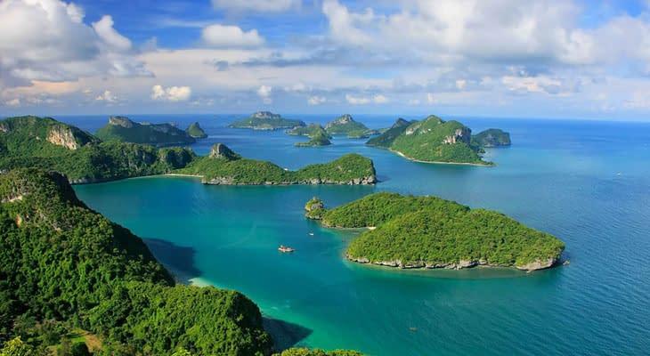 angthong nationaal marine park tour