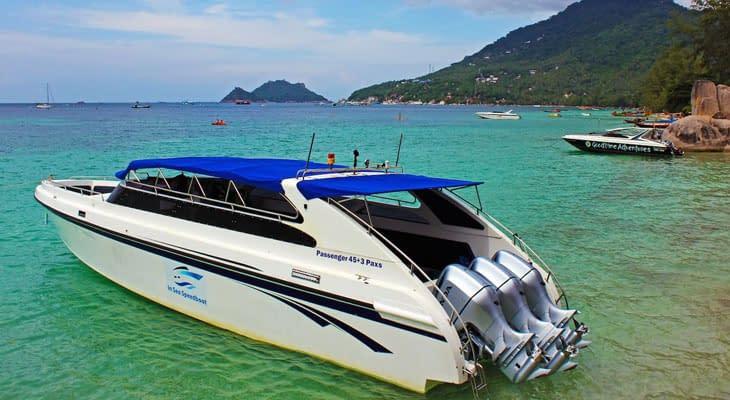 speedboat trip koh samui naar koh tao
